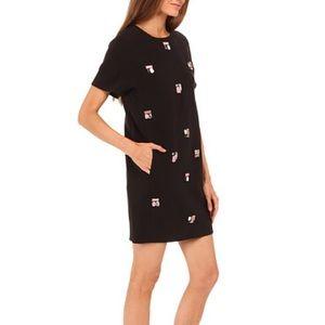 [Kate Spade New York] 10 embellished shift dress